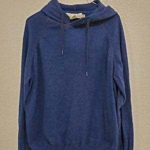 H&M NAVY BLUE HOODIE/SWEATER SIZE X-LARGE